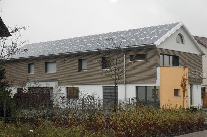 Solar Heizen Kühlen Zaun